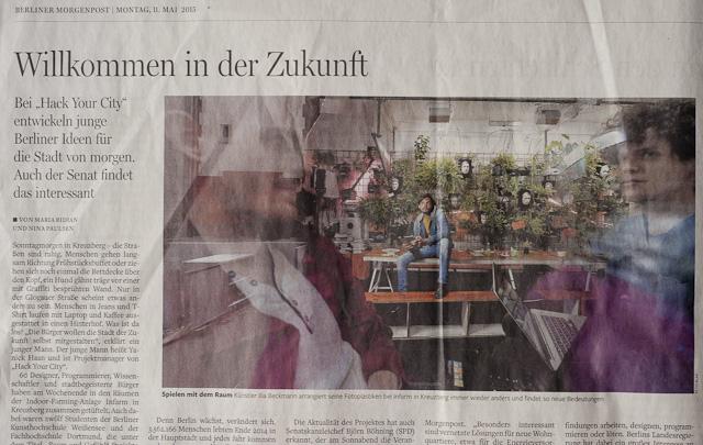 Berliner Morgen Post, Zeitngsartikel