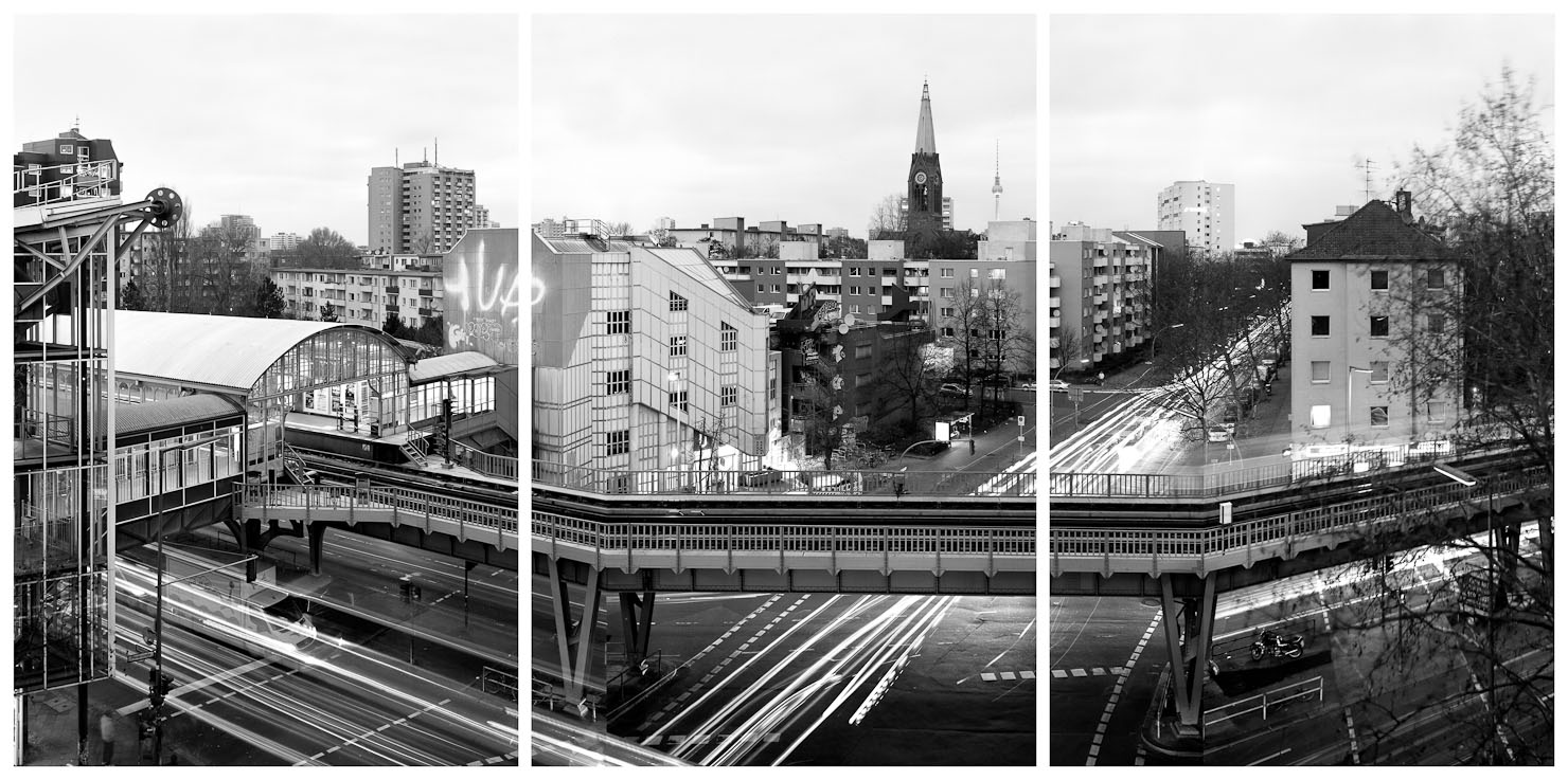 U1 seit 1896 zeitgenössisch - Prinzenstrasse