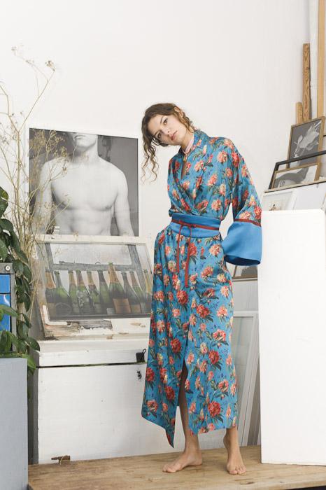 Julia Rossi, Seide, Kimono, FW17/18