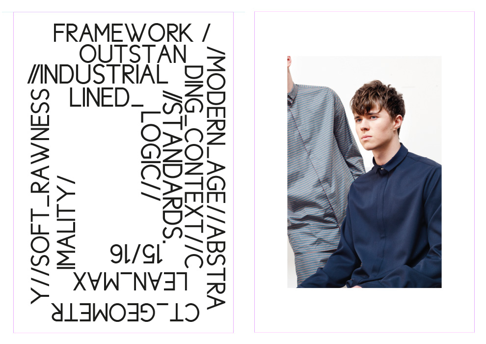 Lennart Meyer, Industrial Standards, Fashion, Lookbook